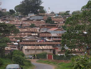 A view of Kibera