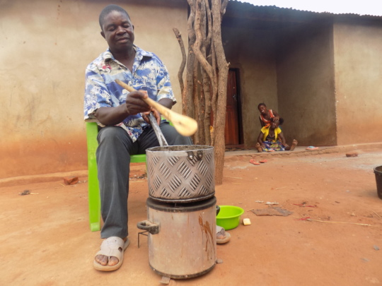 Beneficiary  of clean cook-stoves