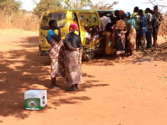 Beneficiaries of clean cook-stoves