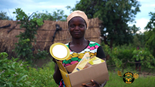 Beneficiary of a Solar Lighting System