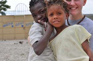 Some of Haiti's beautiful kids