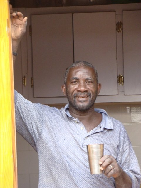 La Main Tendre Orphanage Director Andre