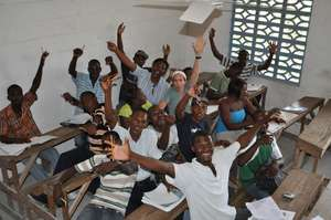 Happy English Students - Thanks to you!