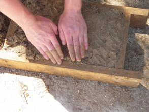 Getting our hands dirty with sustainable building