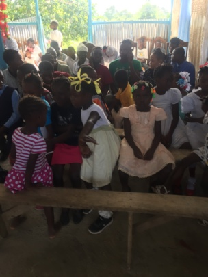 Group of children waiting for Food  Distribution!