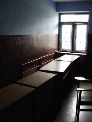 Why is the classroom empty?