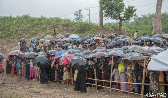 refugees in cox's bazar