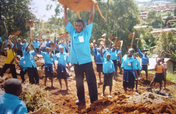 Providing classrooms for 120 children in Cameroon