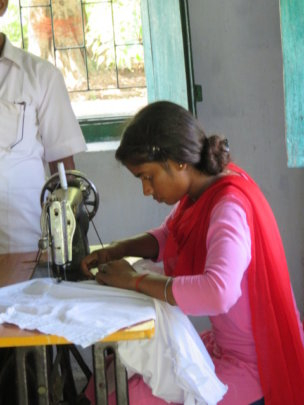 Vocational training is part of the program.