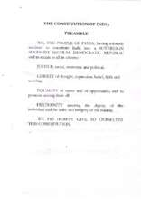 Preamble to the Constitution of India (PDF)