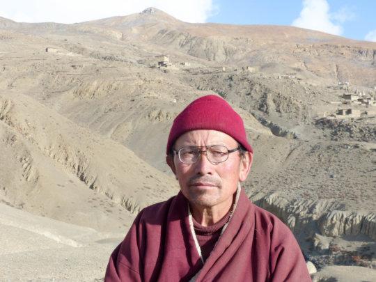 Karma Dhondup Lama, Founder of School in Saldang