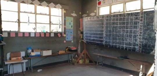 Room 1 in the Current Classroom