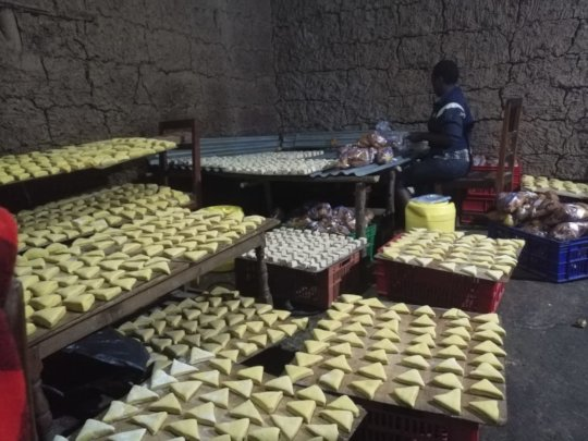 Bakery of one beneficiary of the funds