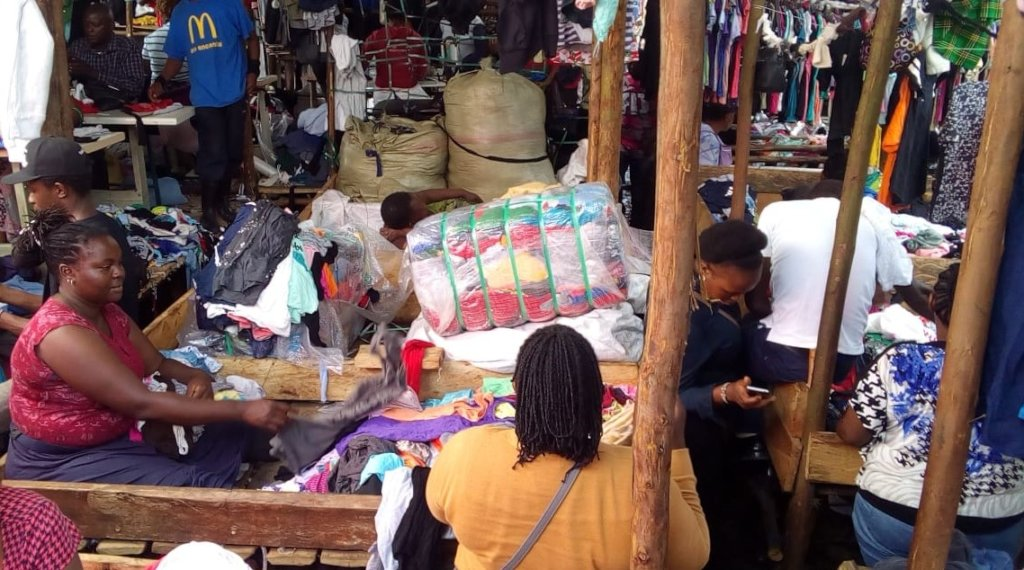TUSA Member selling second-hand clothes
