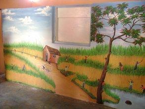 sugar cane mural