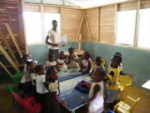 pre-school class