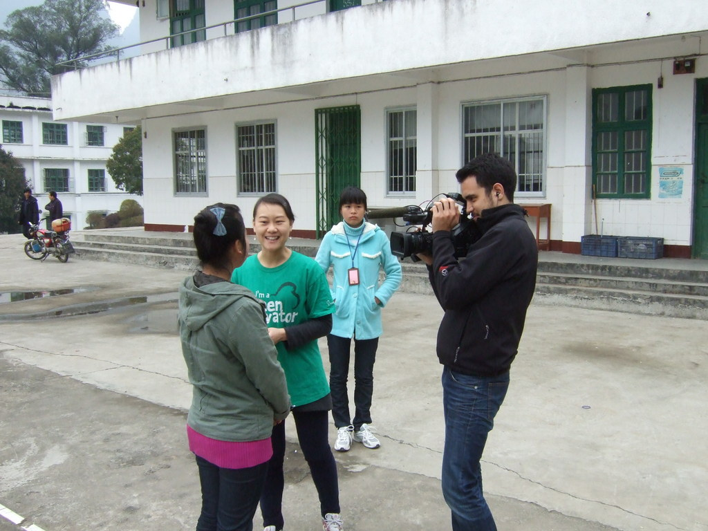Interviewing students after the GECKO class