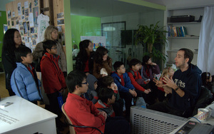 YCIS students visit our green office
