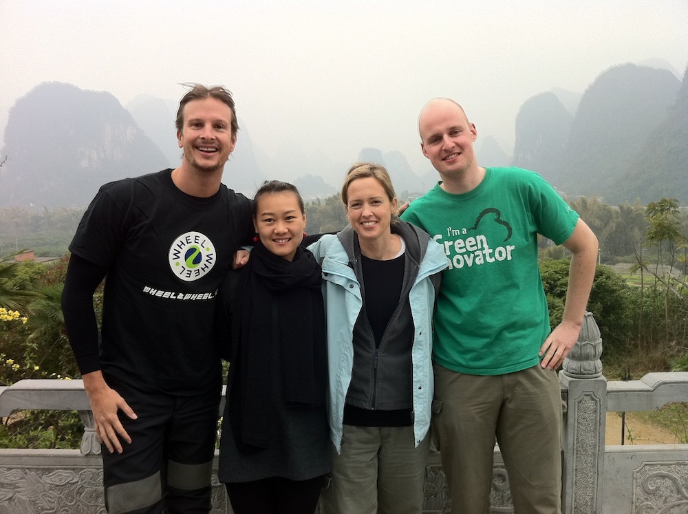 Greennovators with adventurer Morgan Parker