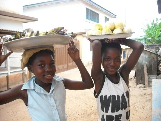 Providing education for 100 Girls in Apowa ,Ghana