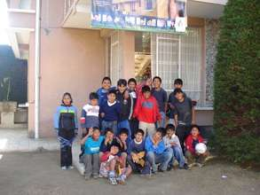 Former Street Children at Kaya Center