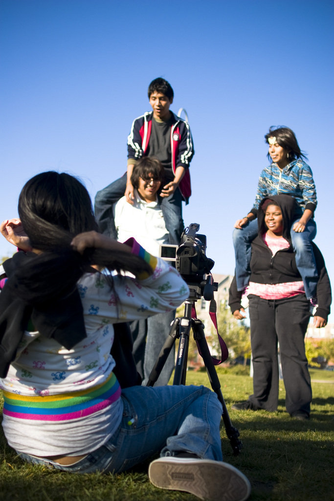 Providing Youth Digital Media Tools For Change