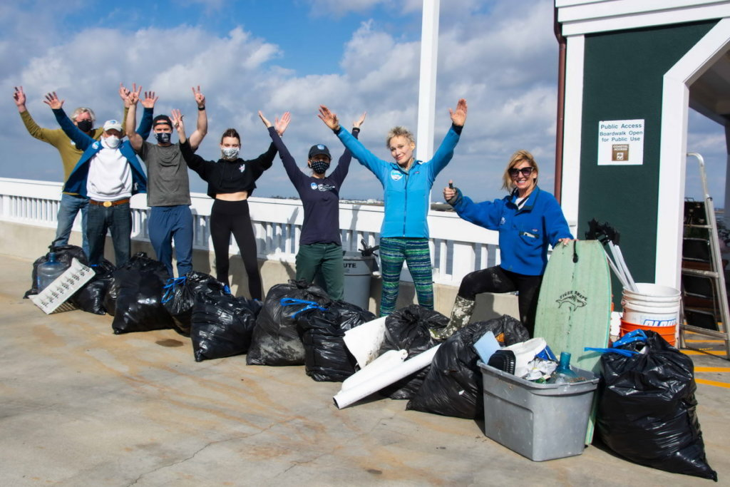 Calif wildlife refuge cleanup very successful!