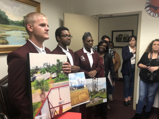 Rosenwald Students at Florida State Capitol