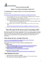 Amma event in Copenhagen, project report (PDF)