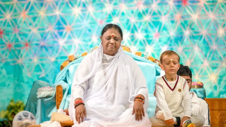 Meditation: Amma in Copenhagen, 2019