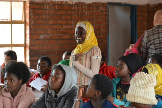 Transformative Education for Refugee Girls