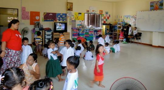 Preschool class!