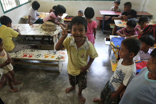Provide Education for 470 Burmese Migrant Children
