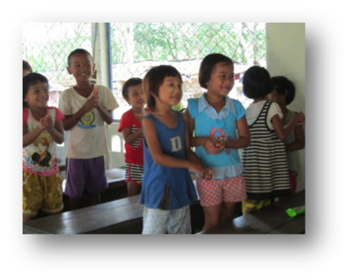 Children at Khok Kloy Learning Center