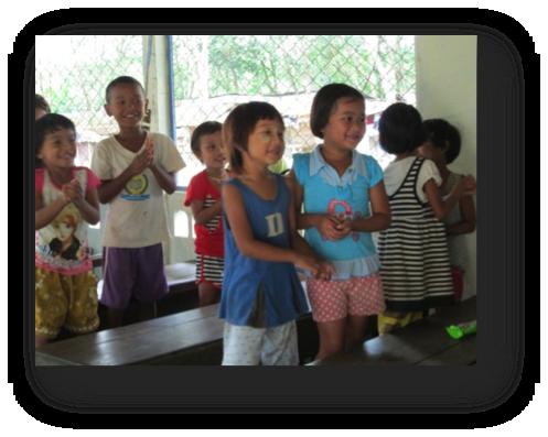 Children at Khok Kloy Learning Center