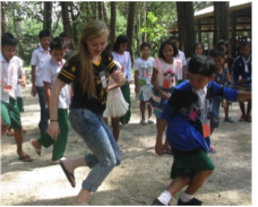 English classes include dancing and singing