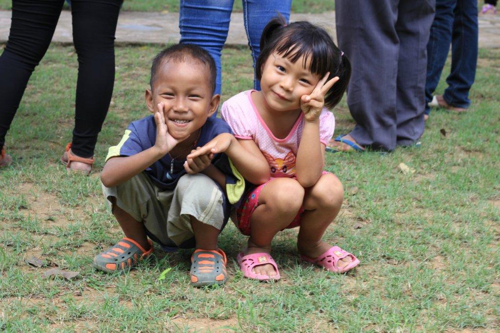 Happy children at FED School!