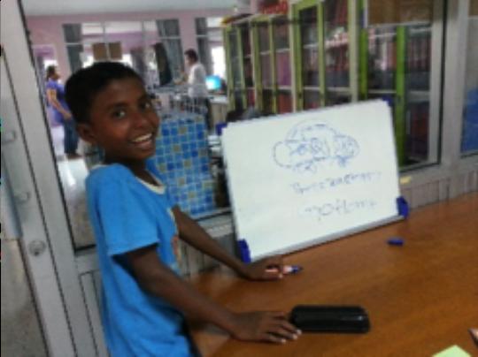 Rohingya Student at ULC