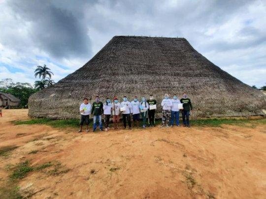 Beto Marubo and the COVID response team