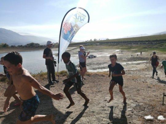 Running leg of Triathlon