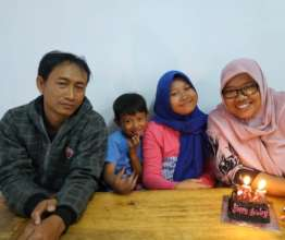 Aminah and her family