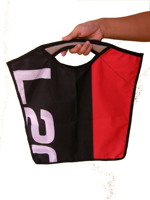 Tote Bag made from banners