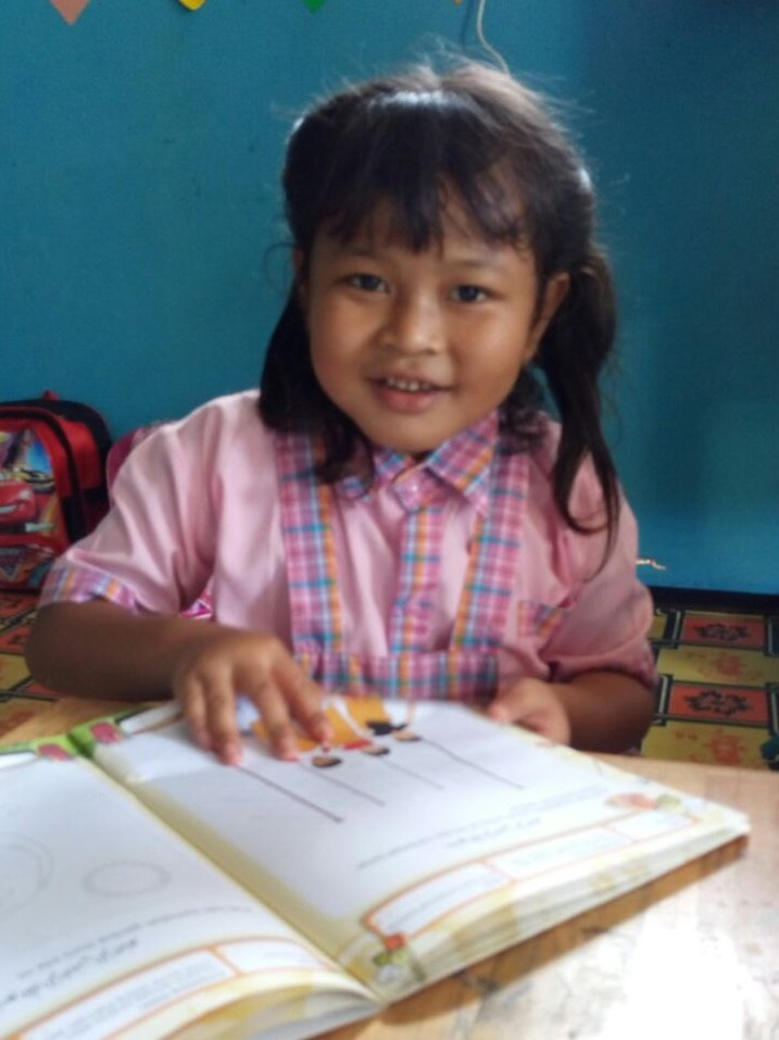 One of our First Grade Students