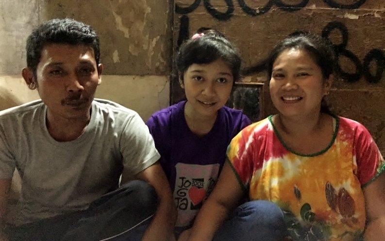 Kayan, Fifi and Saminah at Home