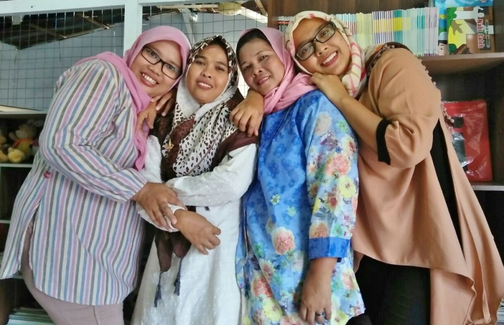 Our Angels: Aminah, Wati, Supena and Bedah