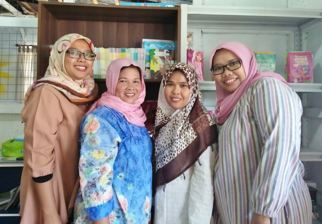 Bedah, Supena, Wati and Aminah