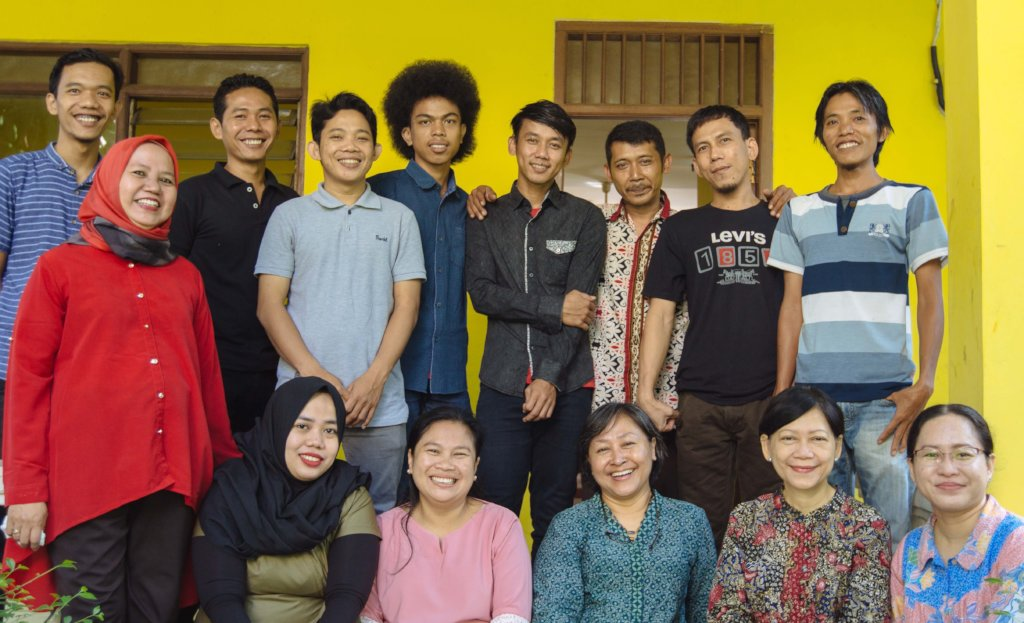 The XSProject Staff in Jakarta