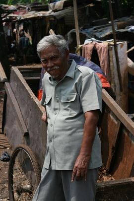 Pak Salim in the community