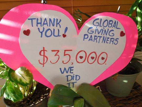 Thank You GlobalGiving Partners!