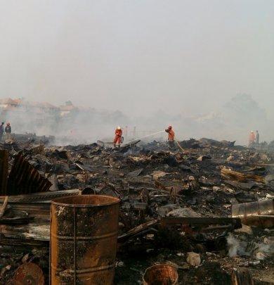 What's Left of Lebak Bulus Open Garbage Dump